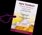 Agra Tandoori Menu